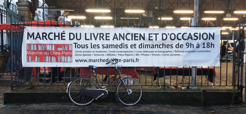 Marché du Livre ancien,Parc Georges Brassens